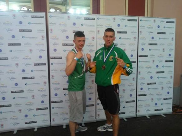 IATBA Silver medallists Martin Wall and Craig McCarthy