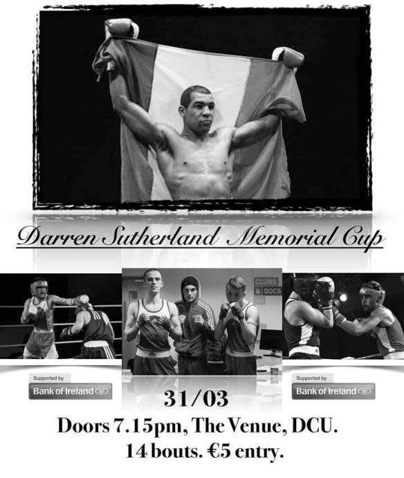 Darren Sutherland Memorial Cup